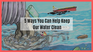 5 Ways You Can Help Keep Our Water Clean