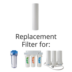 Sediment Filter for Sink and Whole House Filters