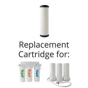 Microbial Ceramic Replacement Cartridge with GAC