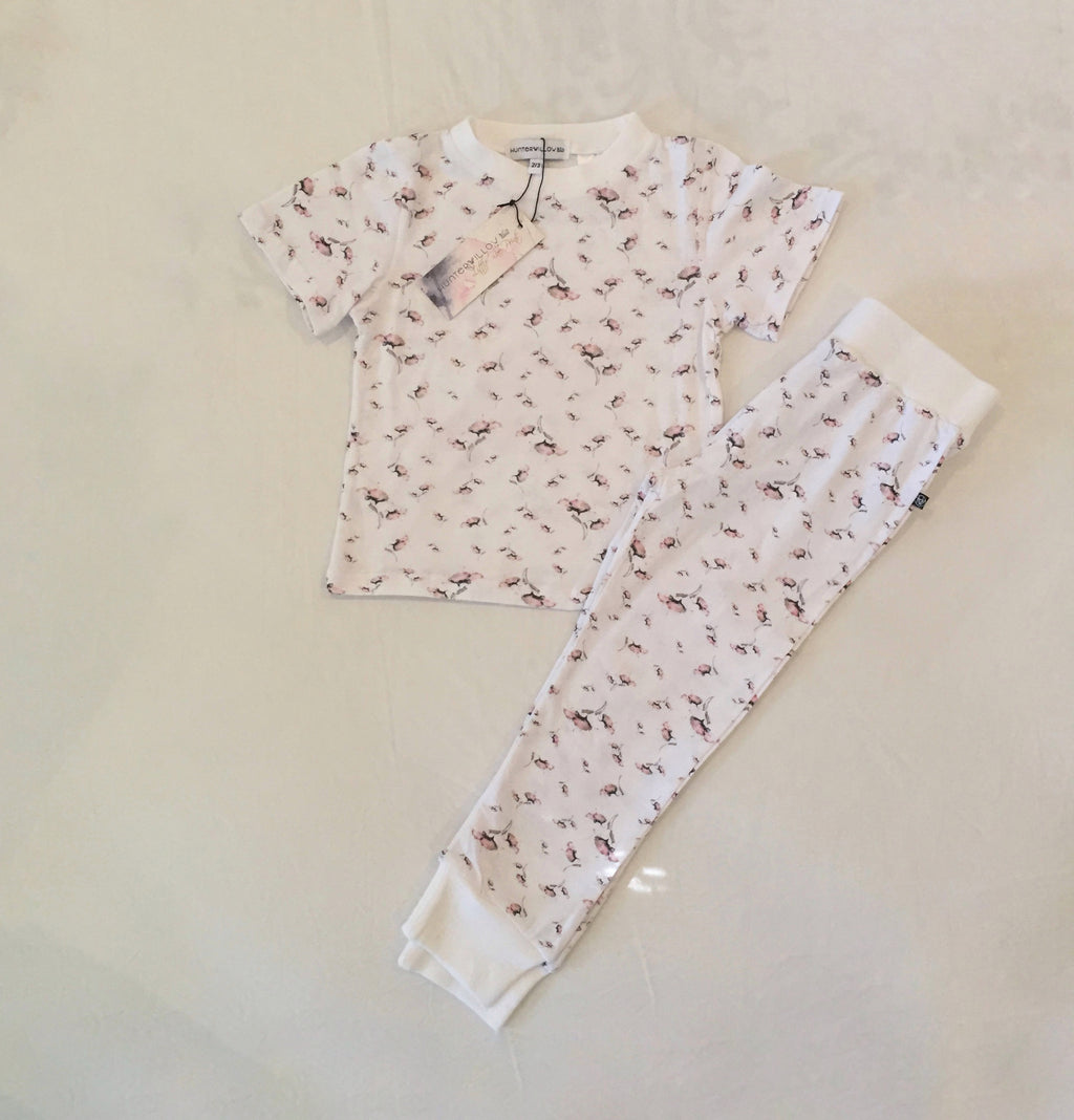 Childrens Poppy design set- Short sleeve