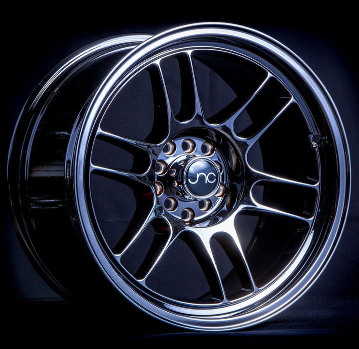 JNC021 Black Chrome - JNC Wheels