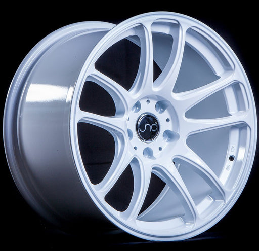 JNC030 White - JNC Wheels