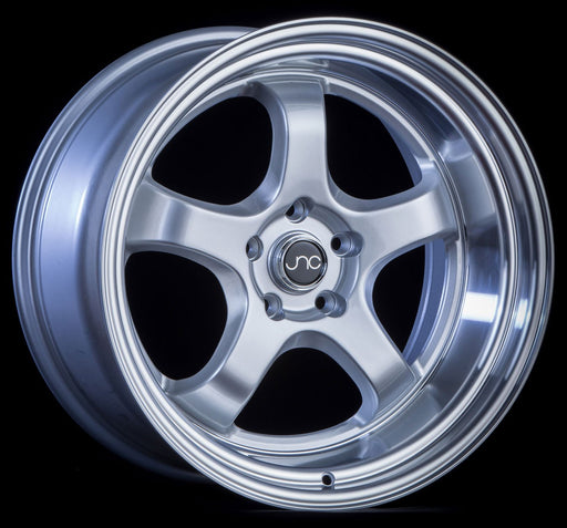 JNC017 Silver Machined Lip - JNC Wheels