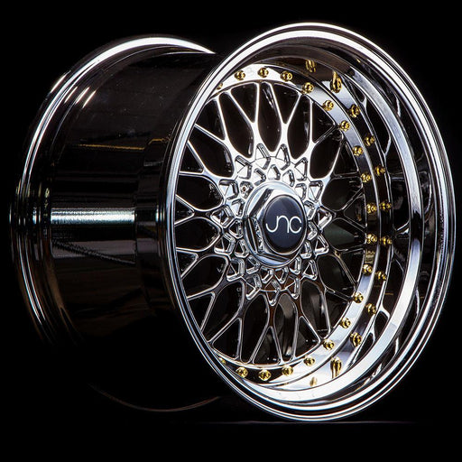 JNC004 Platinum Gold Rivets - JNC Wheels