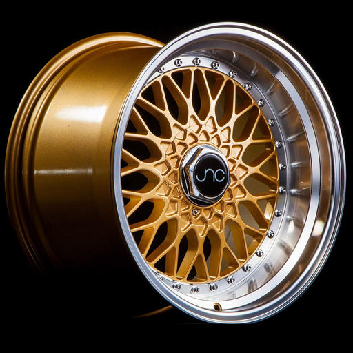 JNC004 Gold Machined Lip - JNC Wheels