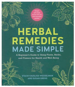 Herbal Remedies Made Simple (hc) by Dugliss-Wesselman & Gregg