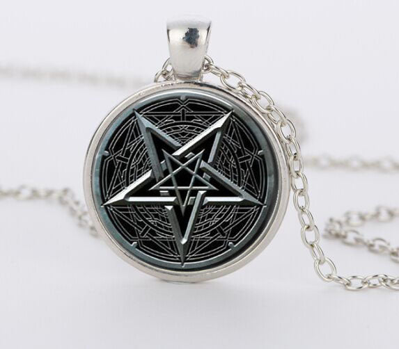 Witch Pentagram Pendant Necklace