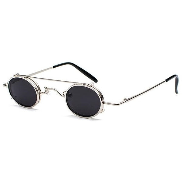 Small Round Steampunk Unisex Sunglasses