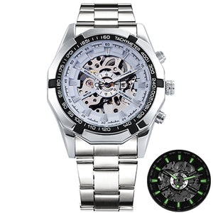 Winner Skeleton Mens Watches