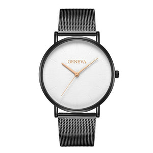 Luxury Stainless Steel Watch 2019