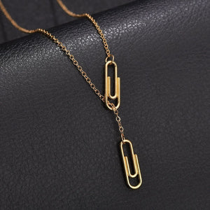 pin pendant necklace