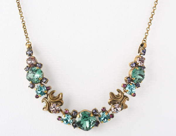 Balsam Necklace Jewel Tone
