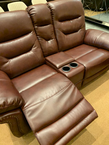 Hobart Lounge Suite Burgundy