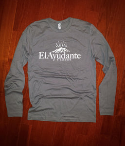 Long-sleeve logo shirt - Grey