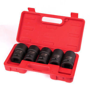 "1"" Drive Metric Budd Wheel Socket Wrench Tool Set - tool"