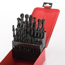 Cheap 29 Piece Piece Drill Bit Set Index for Metal Steel Drilling with Case Box - tool