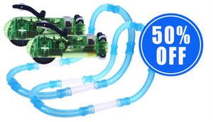 1 Magical Tube Racer Set + 1 50% OFF