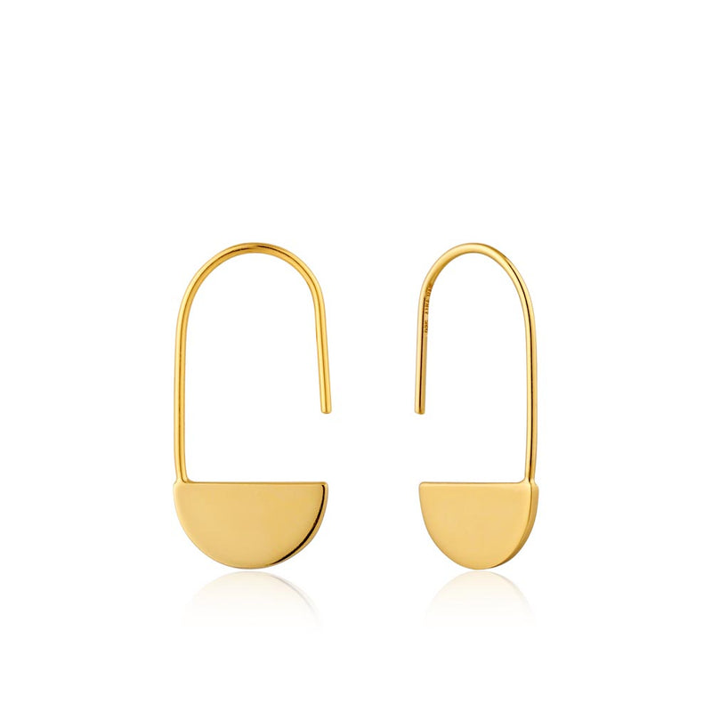 Geometry Drop Earrings - Ania Haie Jewellery