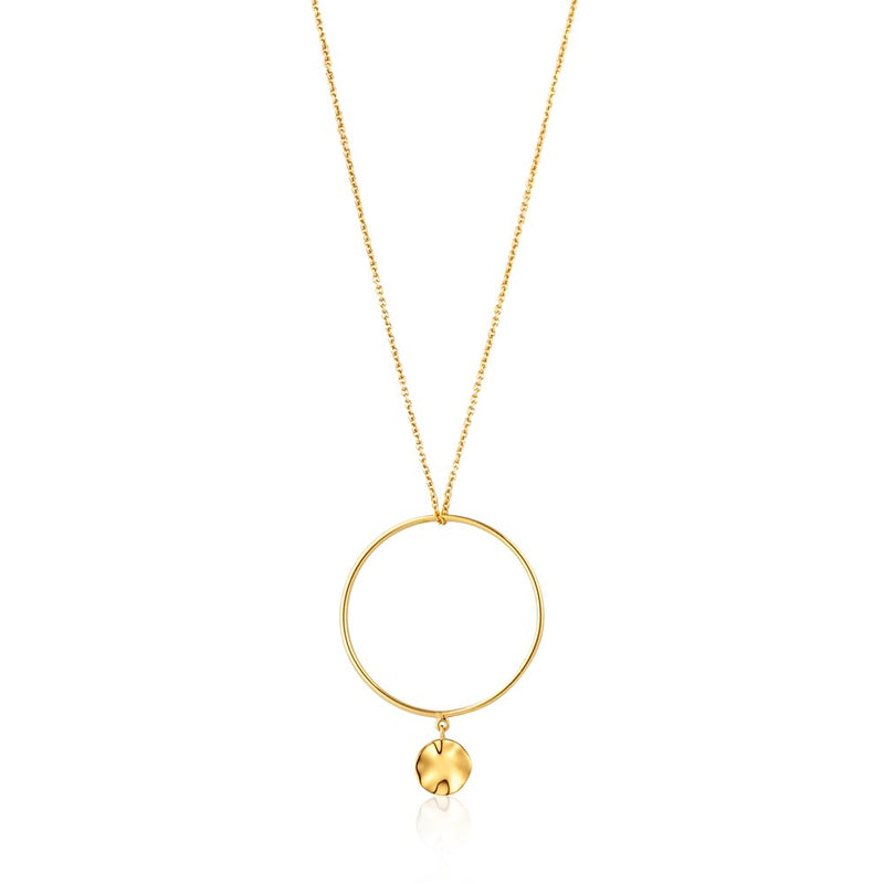 Ripple Circle Necklace - Ania Haie Jewellery