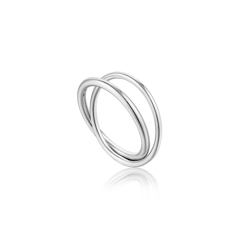 Modern Double Wrap Ring - Ania Haie Jewellery