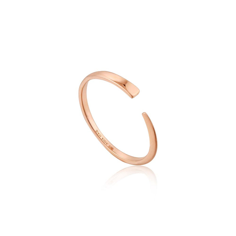 Geometry Flat Adjustable Ring - Ania Haie Jewellery