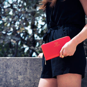 Long wallet – Red