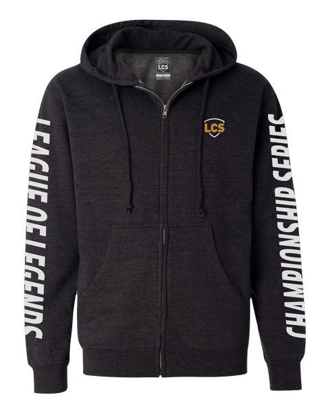 LCS Spring Basic Zip Hoodie - Charcoal Heather