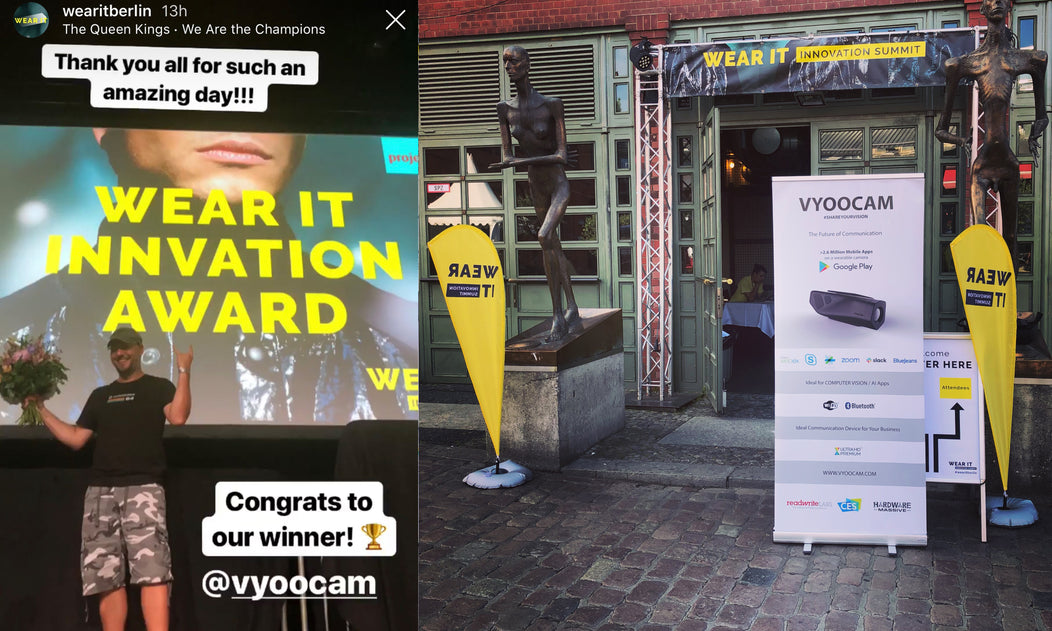 Vyoocam - the winner of 2019 WearIT Innovation Summit