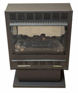 Buck Stove Model 1127 Vent-Free Gas Stove - Black - Fireplace Choice