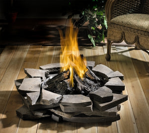 Napoleon Patioflame Stainless Steel Outdoor Firepit - Fireplace Choice