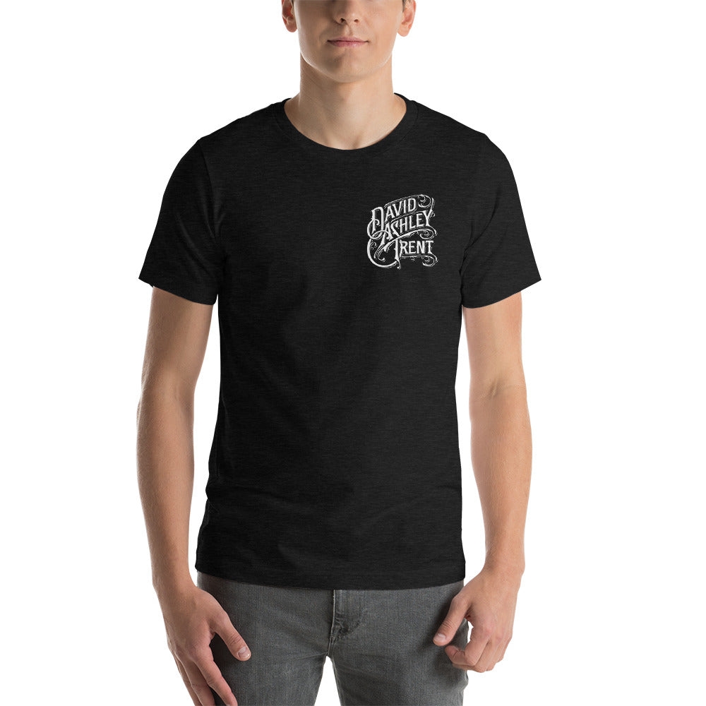 Dark Heather Grey DAT LOGO Short-Sleeve Unisex T-Shirt