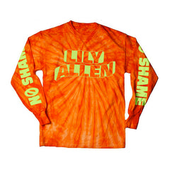 ORANGE TIE DYE LONGSLEEVE