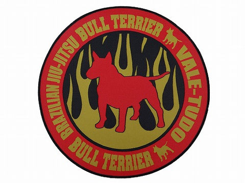 BULLTERRIER Patch – FIRE CIRCLE Gold