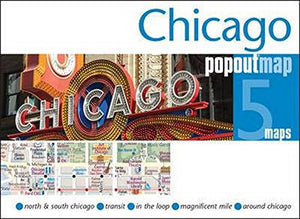 Chicago Popout Map (Popout Maps)