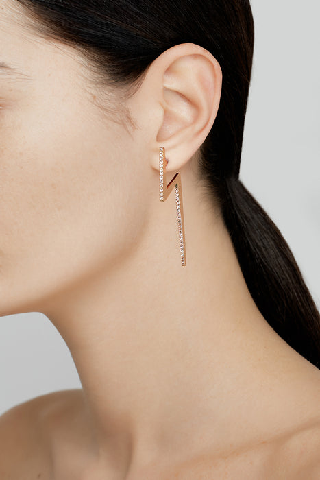 Flash Earrings Gold