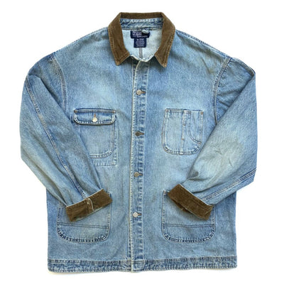 90's Polo Ralph Lauren Denim Work Jacket