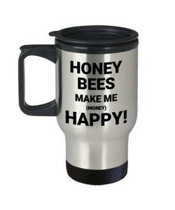 HONEY BEES MAKE ME (MONEY) HAPPY