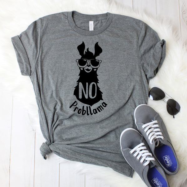 No Probllama T-Shirt