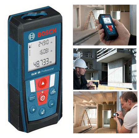 BOSCH GLM50 LASER DISTANCE MEASURER - 165FT-Marson Equipment