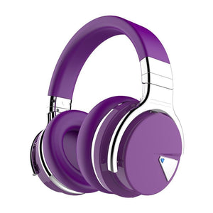 COWIN E7 | Active Noise Canceling Wireless Bluetooth Құлақаспап Құлақаспап cowinaudio Purple