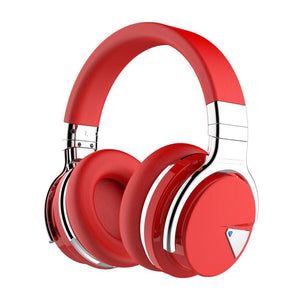 COWIN E7 | Active Noise Canceling Wireless Bluetooth Құлақаспап Құлақаспап cowinaudio Қызыл