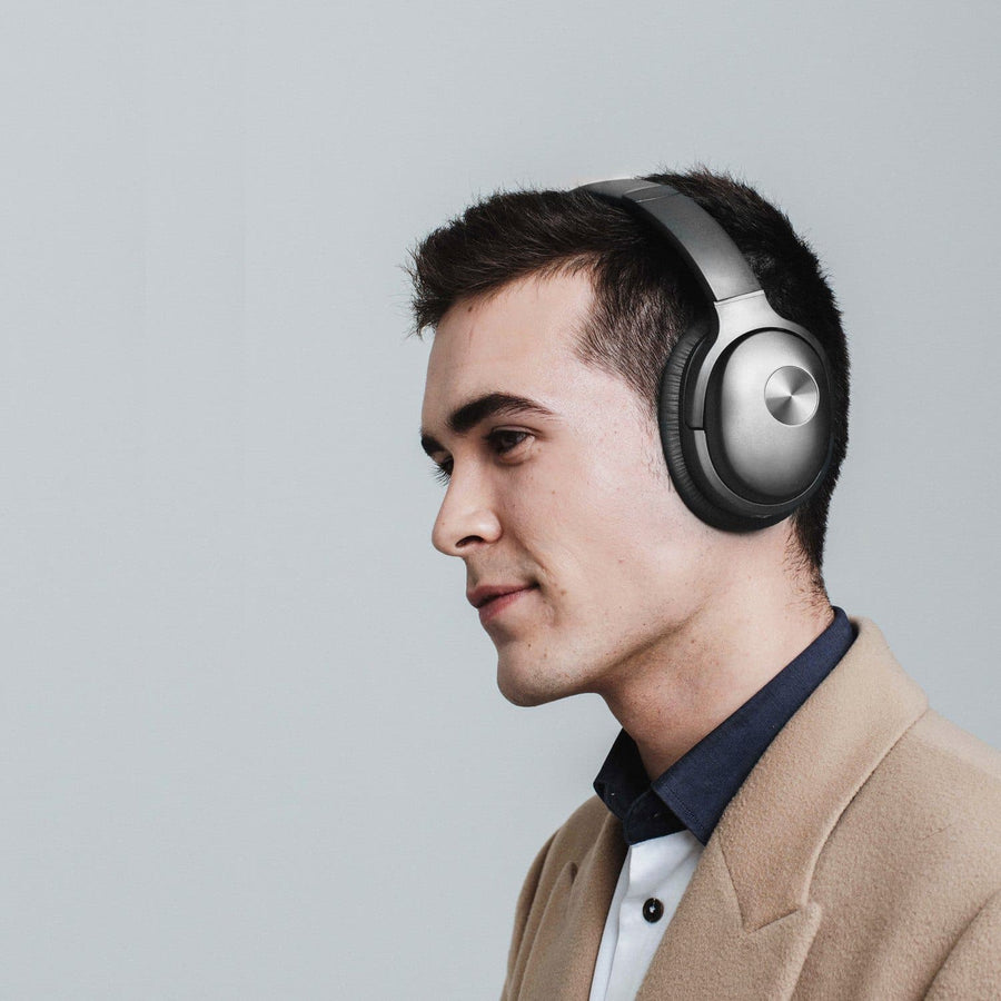 COWIN SE7 | Active Noise Canceling Wireless Bluetooth құлаққаптар Cowinaudio Black