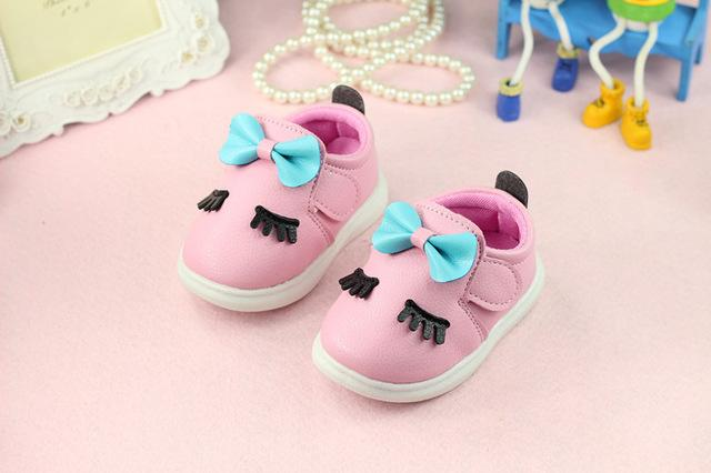 Spring 2018 new girl baby princess shoes first walkers