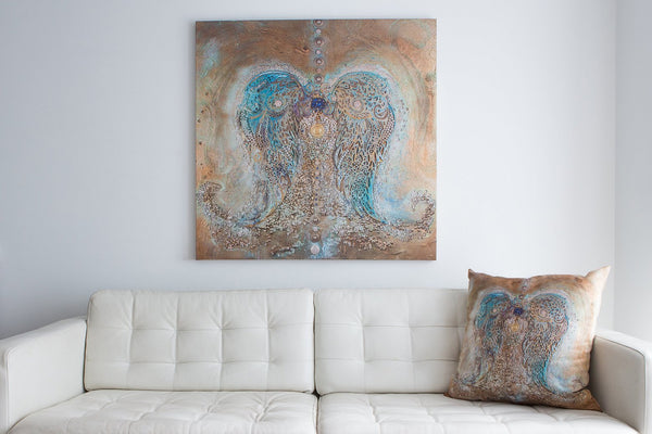 The Bare Minimum Large Canvas Wall Art