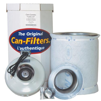 Can-Filter Pre Packaged Can 50 w/ Can-Fan 6 in HO