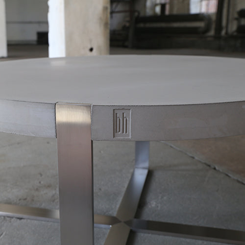 Round Unique Regular - Sofabord Betonbord Loungebord Cafebord
