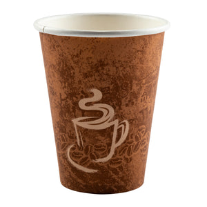 Cup Hot Paper Single Wall 12oz, Case 50x20