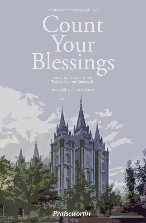Count Your Blessings - TB | Jackman Music Sheet Music