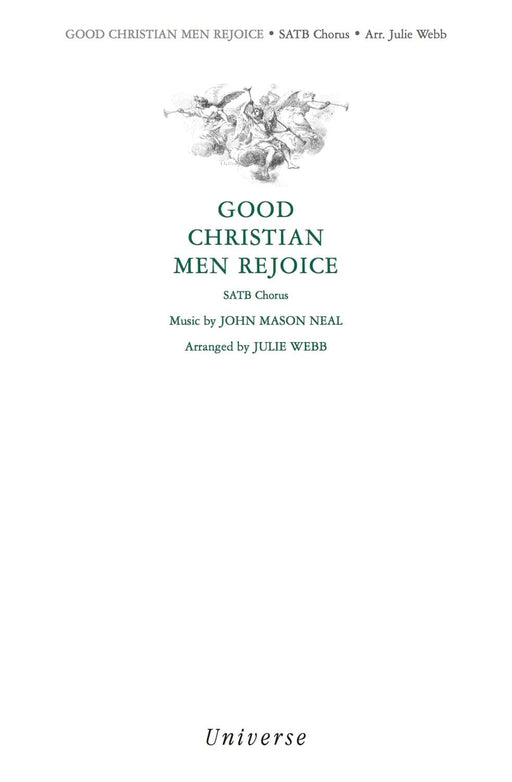 Good Christian Men Rejoice - SATB