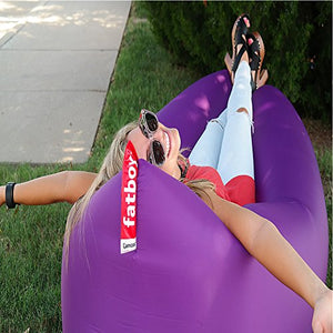 Inflatable Lounger with Carry Bag